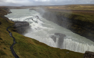 Iceland Day Two: Waterfalls and a Volcano